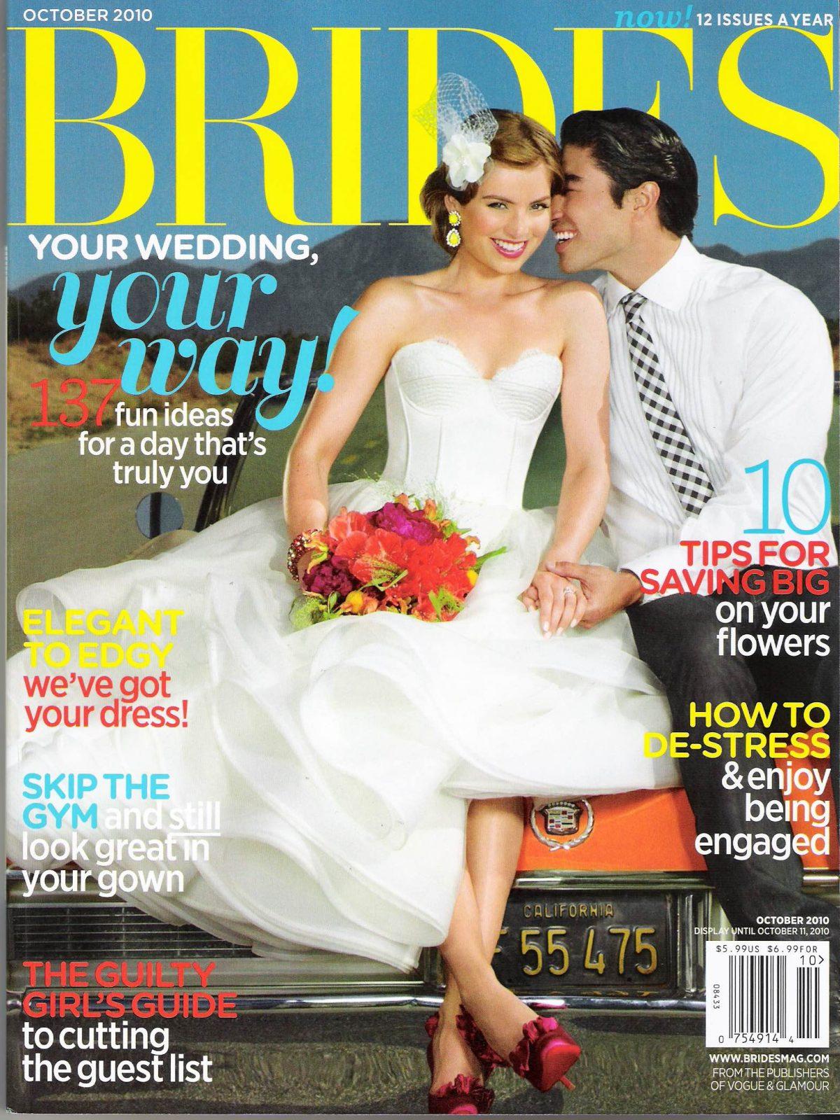 Brides Cover October 2010