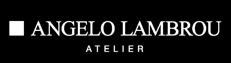 Angelo Lambrou Atelier Logo White