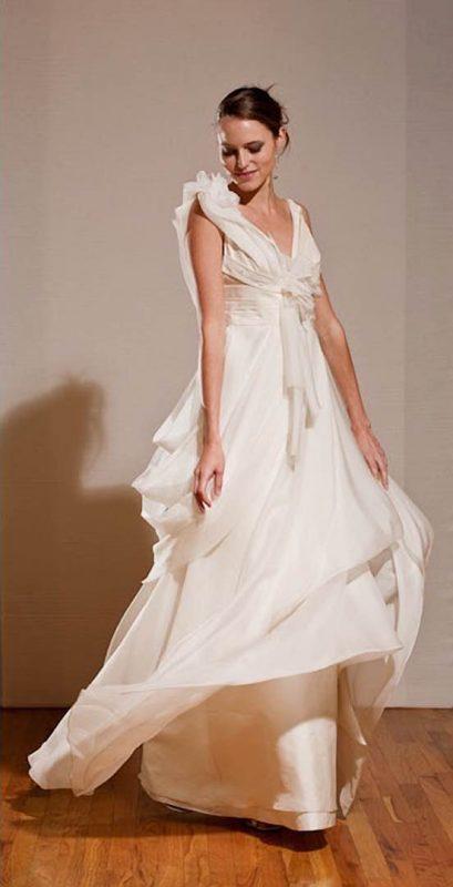 Angelo Lambrou Couture Gown Deco Amaya Reid Front