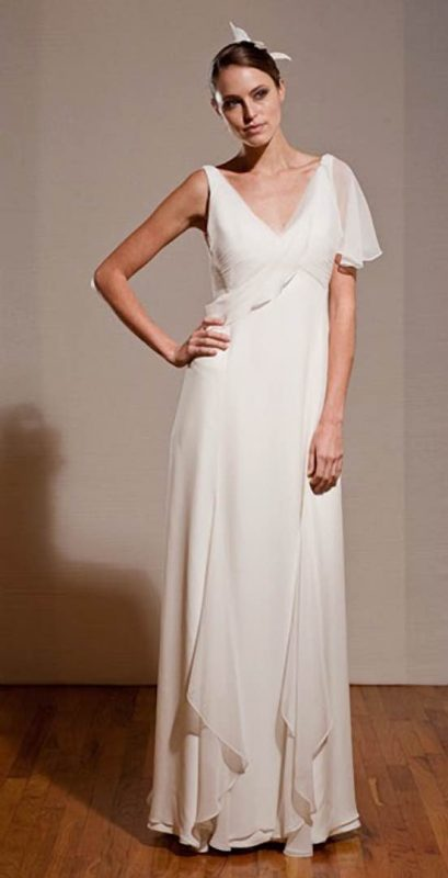 Angelo Lambrou Couture Gown Deco Besse Love Front