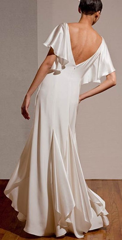 Angelo Lambrou Couture Gown Deco Dita Parlow Back