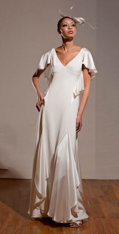 Angelo Lambrou Couture Gown Deco Dita Parlow Front
