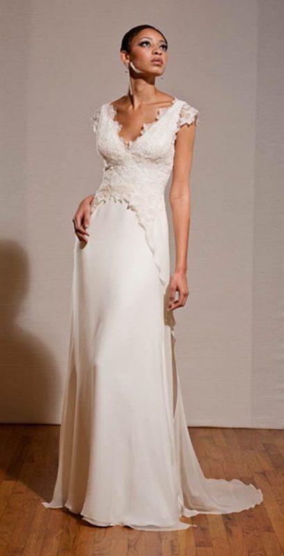 Angelo Lambrou Couture Gown Deco Viola Dana Front