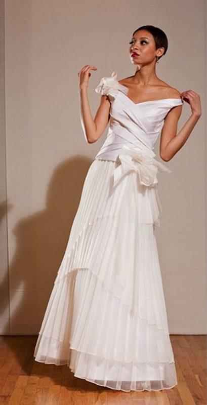 Angelo Lambrou Couture Gown Deco Vivian Rich Front