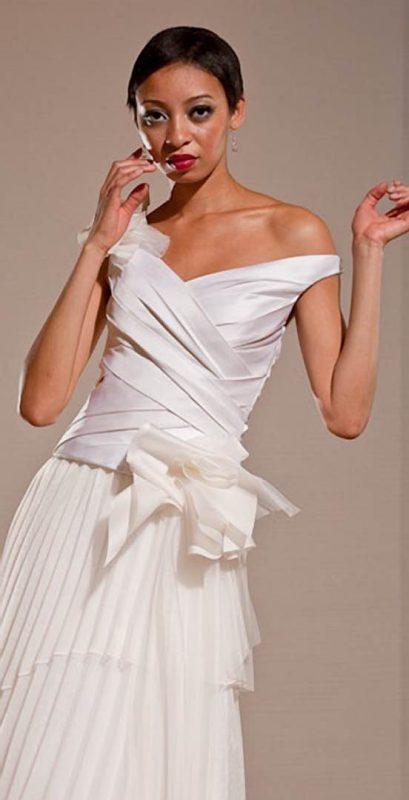 Angelo Lambrou Couture Gown Deco Vivian Rich Front Closeup