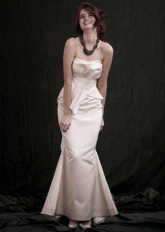 Angelo Lambrou Couture Gown Flora Shoot Genevieve