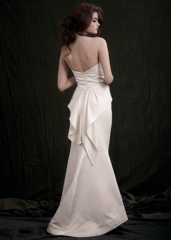 Angelo Lambrou Couture Gown Flora Shoot Genevieve Back