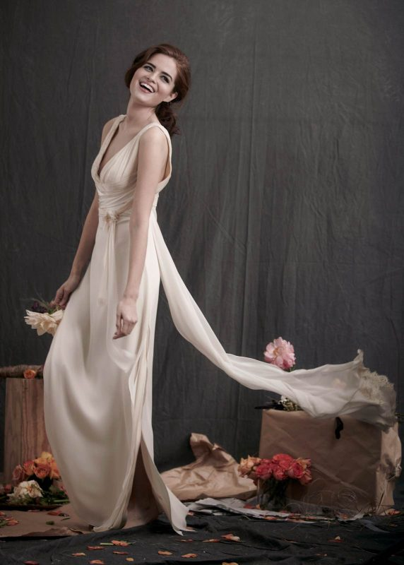 Angelo Lambrou Couture Gown Flora Shoot Grecian