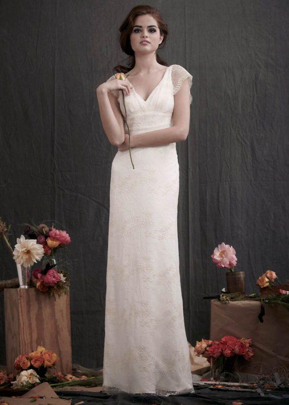 Angelo Lambrou Couture Gown Flora Shoot Lace