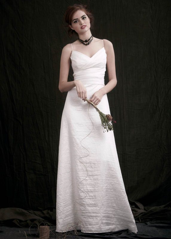 Angelo Lambrou Couture Gown Flora Shoot V Neck