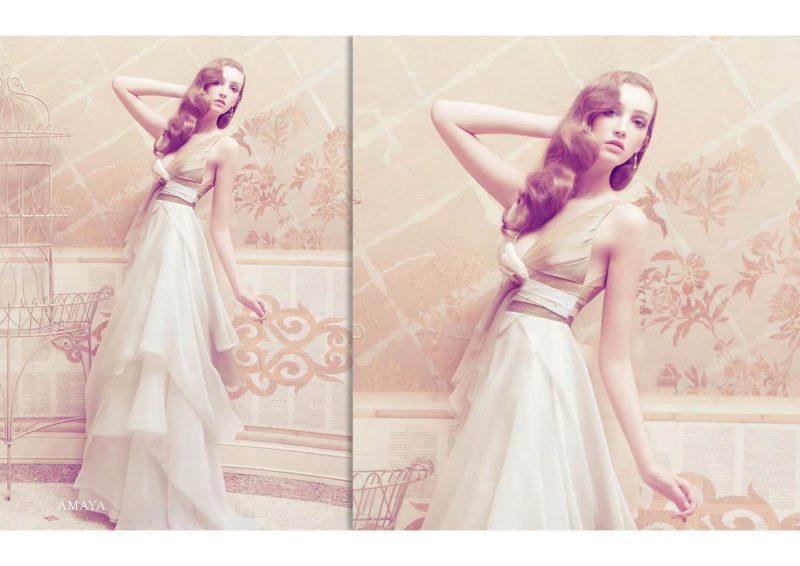 Angelo Lambrou Couture Gown Italian Shoot Amaya