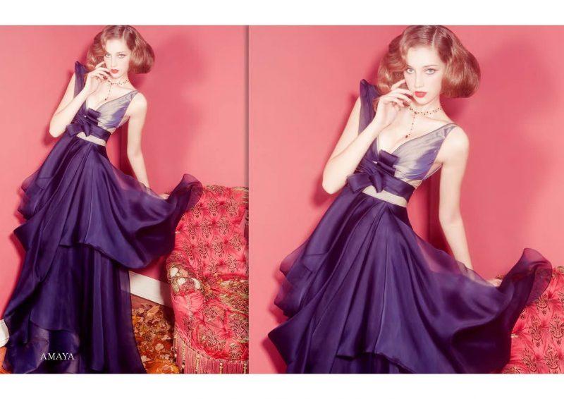 Angelo Lambrou Couture Gown Italian Shoot Amaya Evening