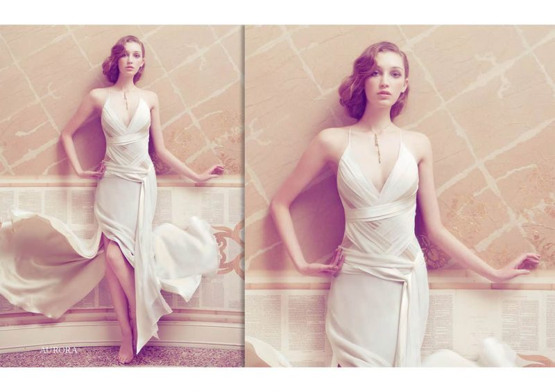 Angelo Lambrou Couture Gown Italian Shoot Aurora