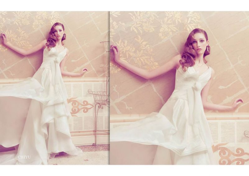 Angelo Lambrou Couture Gown Italian Shoot Chiyu
