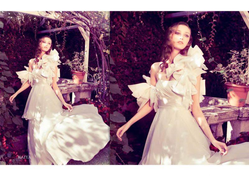 Angelo Lambrou Couture Gown Italian Shoot Kaiya