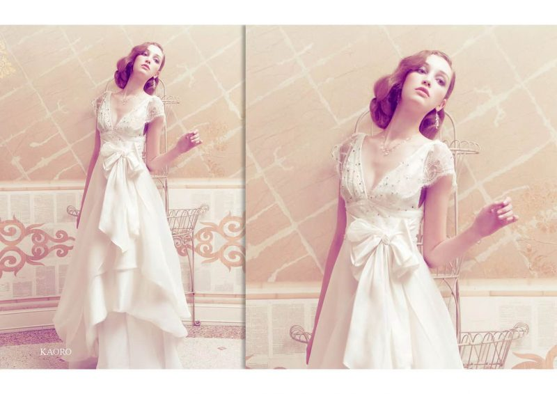 Angelo Lambrou Couture Gown Italian Shoot Kaoro