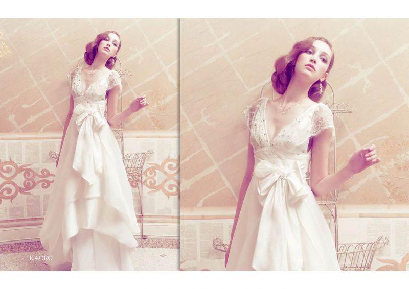 Angelo Lambrou Couture Gown Italian Shoot Kaoro