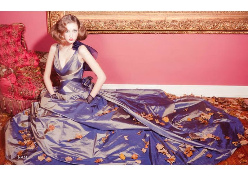 Angelo Lambrou Couture Gown Italian Shoot Nami