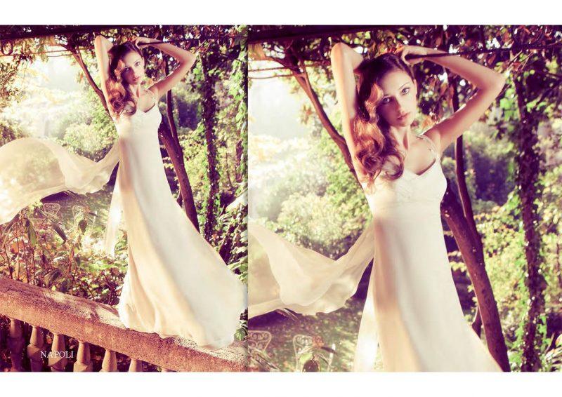 Angelo Lambrou Couture Gown Italian Shoot Napoli