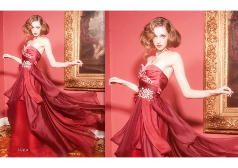 Angelo Lambrou Couture Gown Italian Shoot Tama