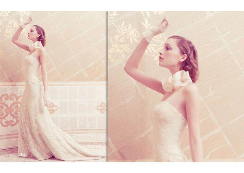 Angelo Lambrou Couture Gown Italian Shoot Uta