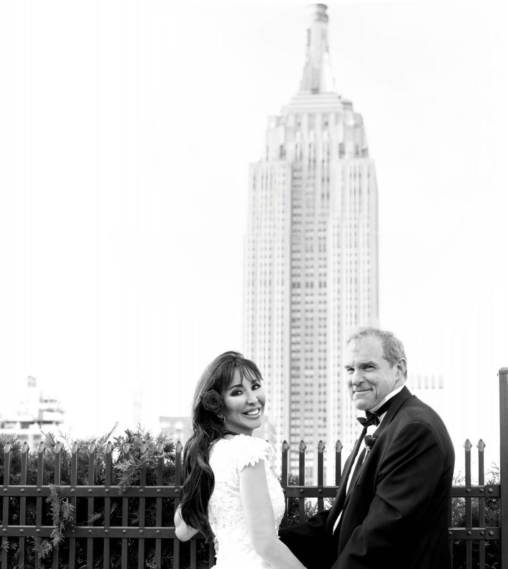 Angelo Lambrou Couture Real Bride Mindy Empire State Building