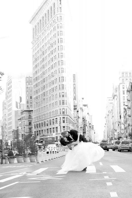 Angelo Lambrou Couture Real Bride Mindy Flatiron Kiss
