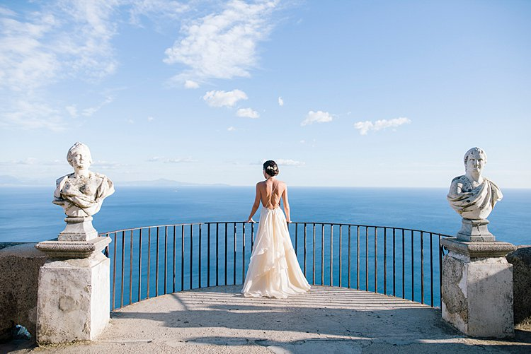 Angelo Lambrou Couture Real Bride Nejila Overlook