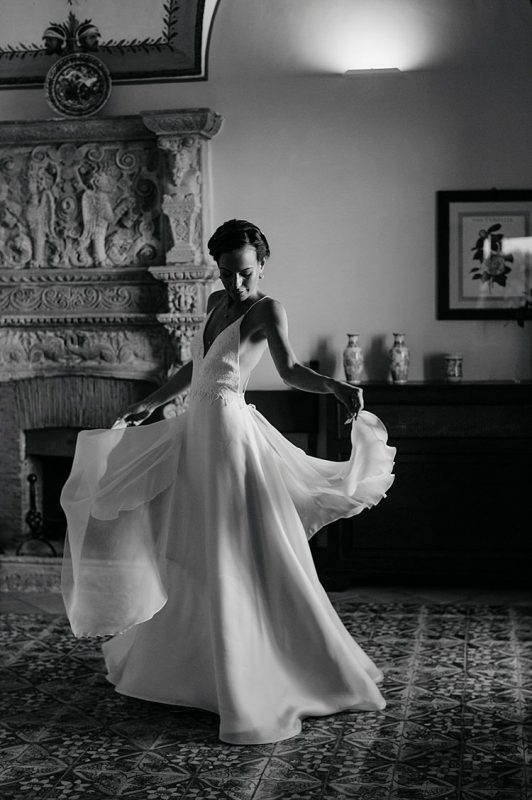 Angelo Lambrou Couture Real Bride Nejila Spin