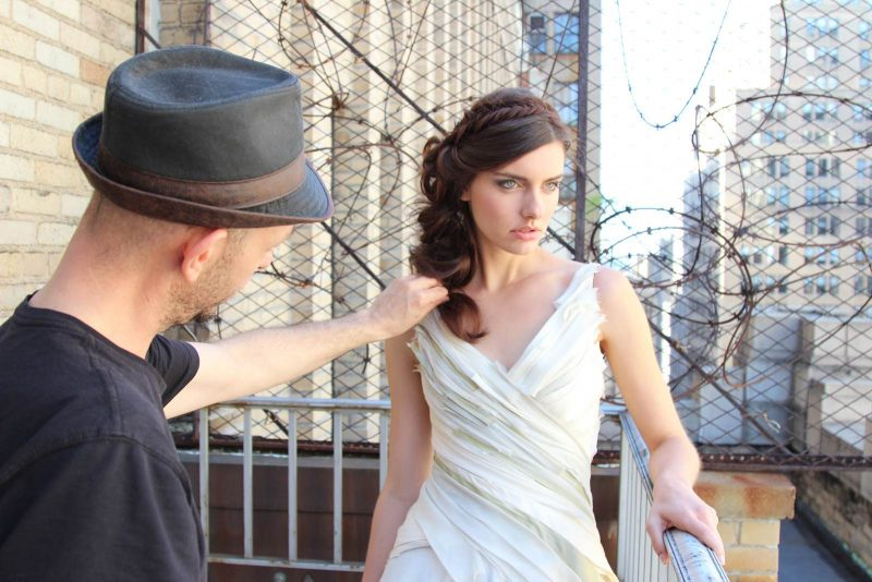 Angelo Lambrou New York Shoot Behind The Scenes 10