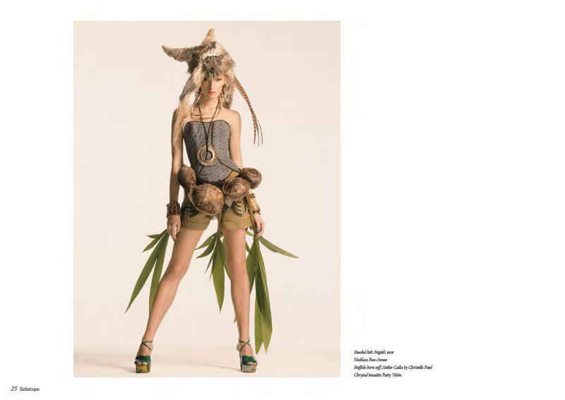 Angelo Lambrou Okavango Corsette And Shorts