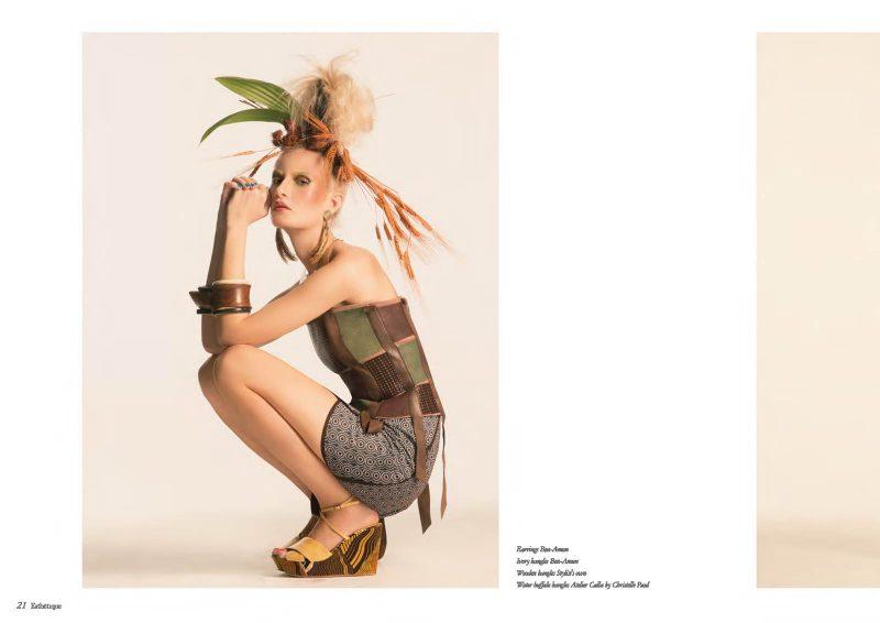 Angelo Lambrou Okavango Skirt And Corsette