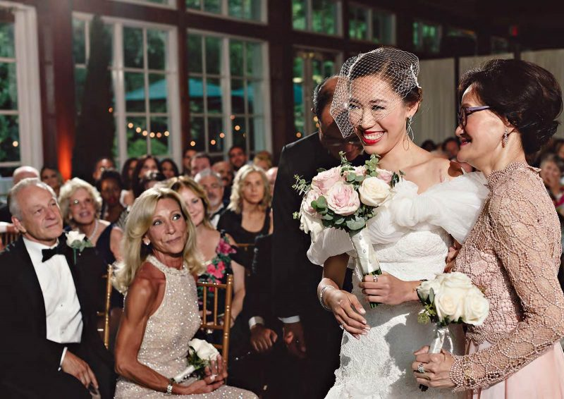 Angelo Lambrou Real Bride Central Park Boathouse Parents