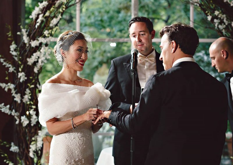 Angelo Lambrou Real Bride Central Park Boathouse Ring