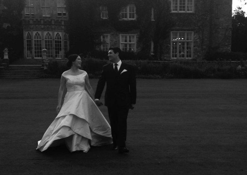 Angelo Lambrou Real Bride Ireland Lawn Bw