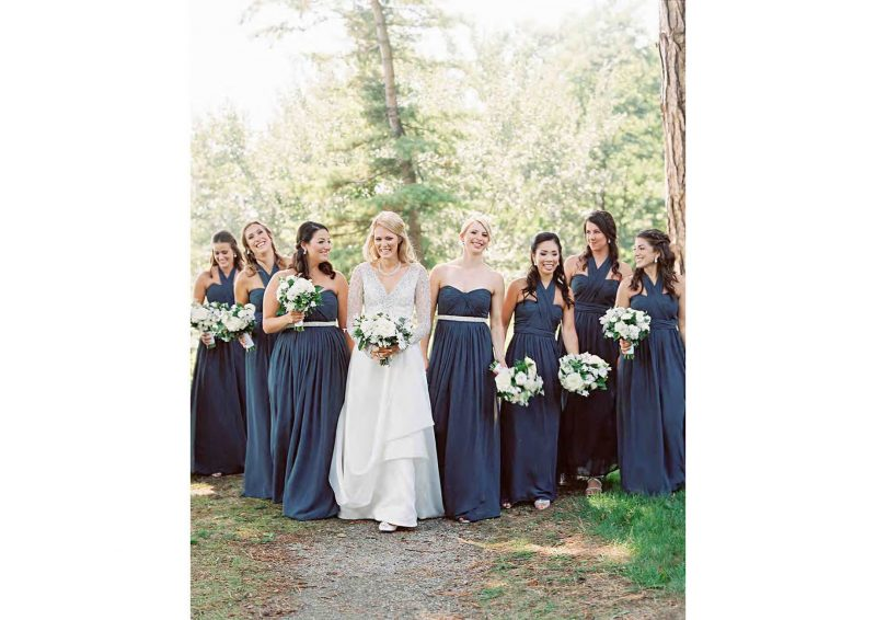 Angelo Lambrou Real Bride Stephanie With Bridesmaids