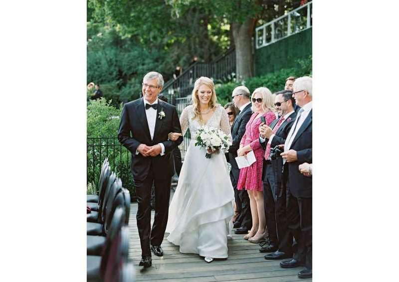 Angelo Lambrou Real Bride Stephanie With Father
