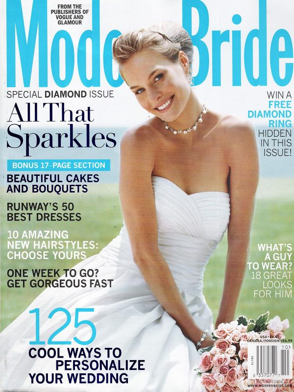 Modern Bride October 2004 Cover
