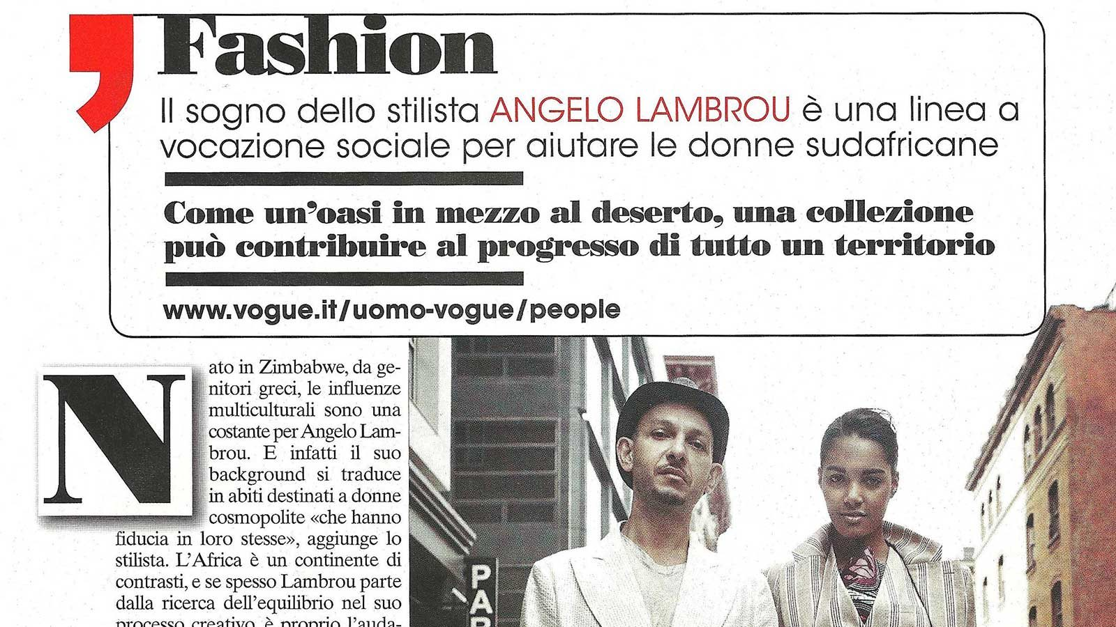 Vogue Italia Featured Image